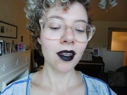 Sheer Midnight Lipstick